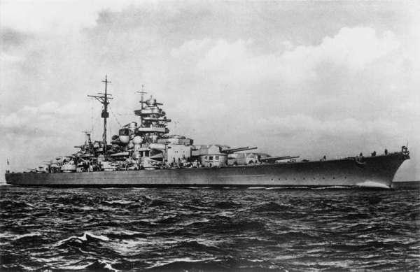 """Германский линейный корабль """"Бисмарк"""". Исторический Справочник"""
