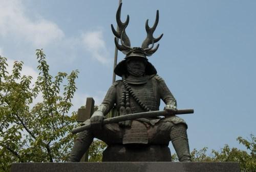 出典:本多忠勝公の像 - 日本沿岸旅行記