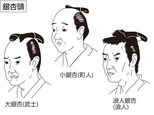 出典:銀杏頭(イチョウガシラ)とは - コトバンク