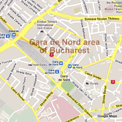 Sunday 24 March architectural walking tour in Gara de Nord area (3/3)