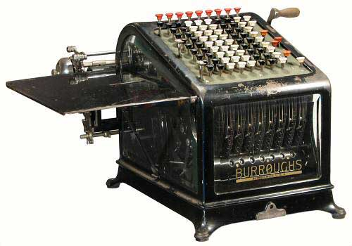 Burroughs Adding Machine History Of The Burroughs Adding