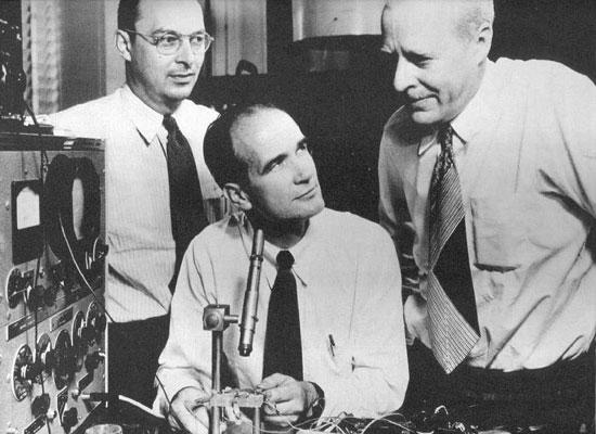 Bardeen, Shockley and Brattain