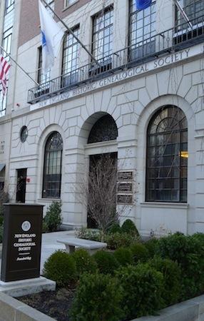 New England Historic Genealogical Society | Historic sites ...