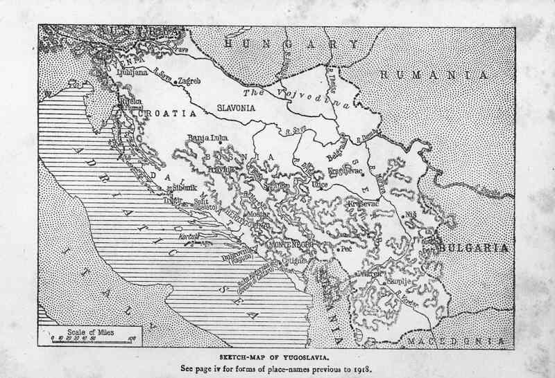 balkans 1928 Η Βαρντάρσκα Μπανόβινα σε σπάνιους Χάρτες, Γραμματόσημα και Διπλώματα της Γιουγκοσλαβίας