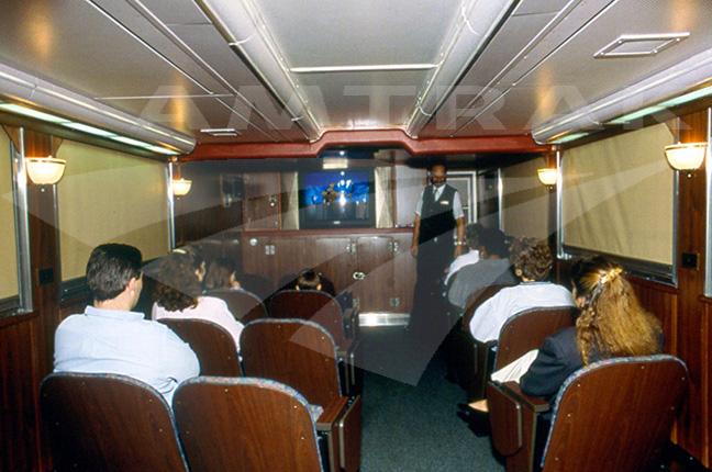 Pacific Parlour Car Interior Amtrak History Of America
