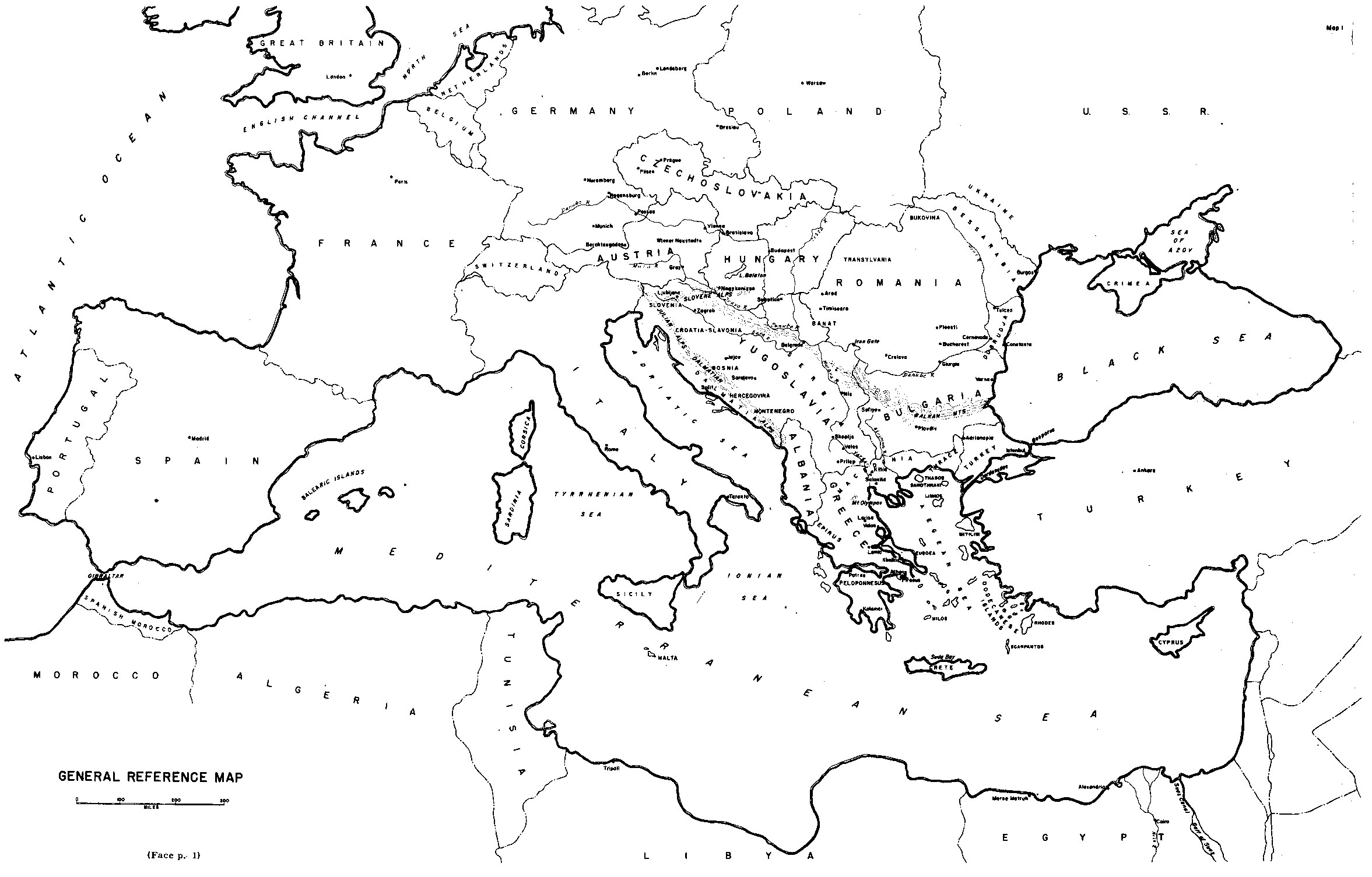 Worksheet Map Of Europe
