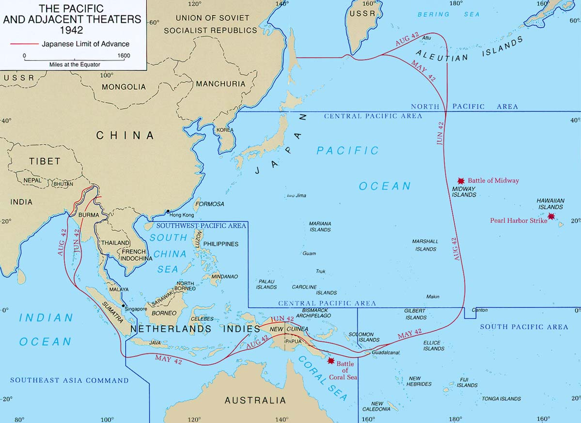 Wwii Campaigns Central Pacific