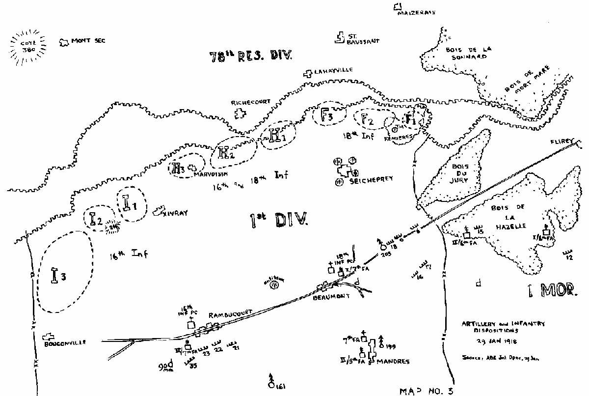 The 1st Division At Ansauville