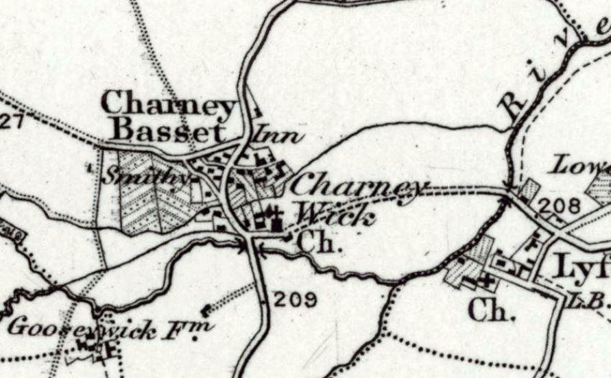 Village Map 1895