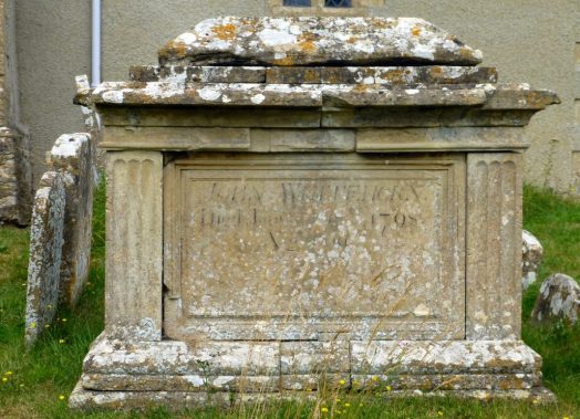 John Whitehorn [tomb in St Peter's graveyard]