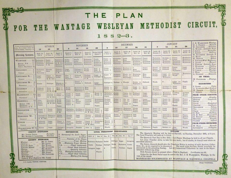 Circuit Plan 1882-3