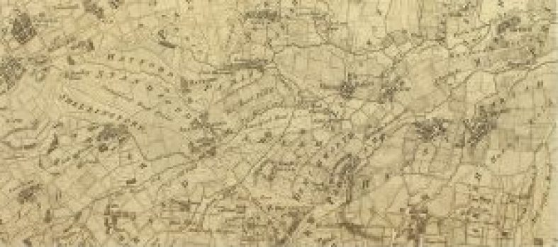 Rocques Map of Berkshire (part) 1761