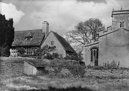 St Peter's Church and the Manor 1939
