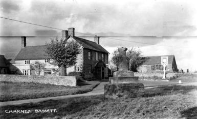 The Chequers, Smithy and Village Cross [Shirley Dore]