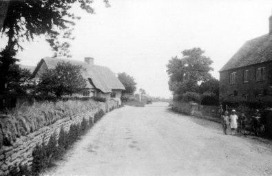 Main St, Rectory Farm House on rt [OCL]