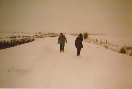 Longworth Road snow 1976
