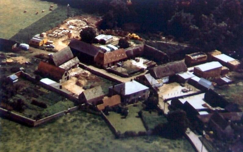 Aerial Photo - Manor Farm
