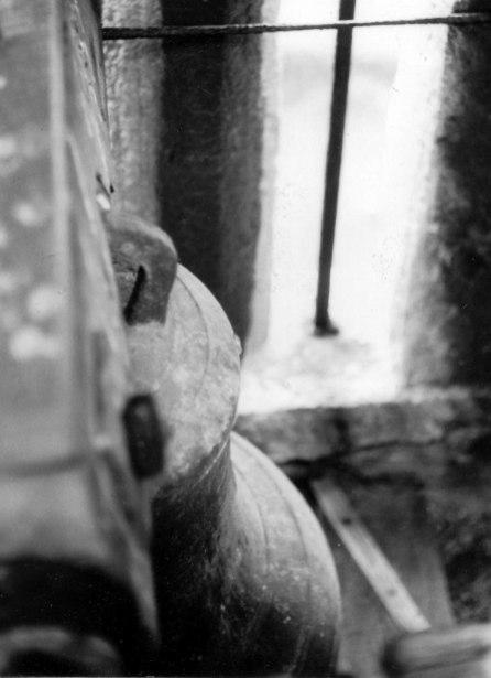 One of the Bells in situ