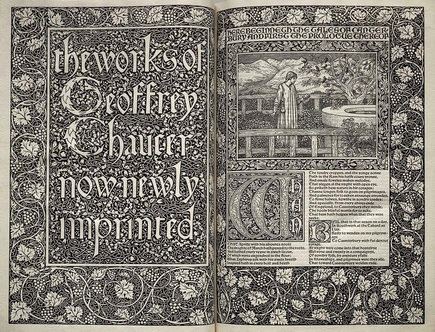 The Kelmscott Press A Bibliophiles Dream Come True