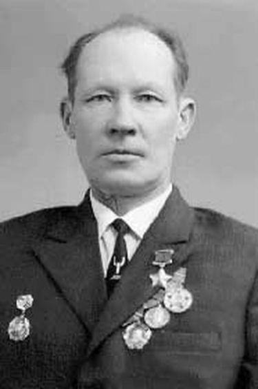 Герой Советского Союза Иван Степанович Кудрин.