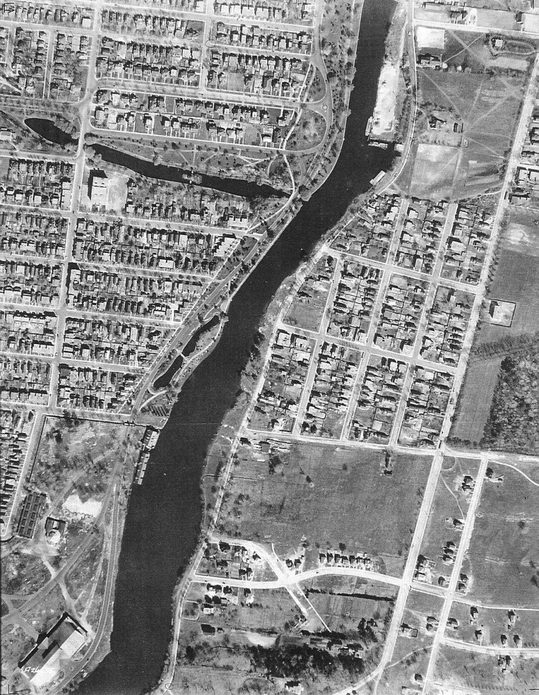 1922-1956 Aerial Photos of the Glebe (3/4)