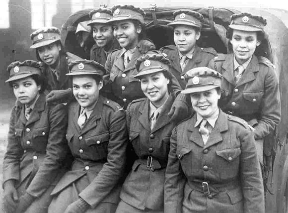 Caribbean women in the ATS during World War II