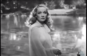 Photograph of Marlene Dietrich in Knight Without Armour (1937)