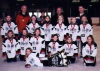 """Novice """"A"""" NW Ice Breakers - Silver Medal Winners - ESSO Golden Ring"""
