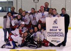 "South View ""Outlaws"" - 2004 Provincial Champions"