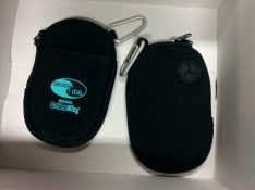 All participants received a custom imprinted Esso Golden Ring Multi Purpose Pouch