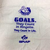 All participants received an Esso Golden Ring skate towel.