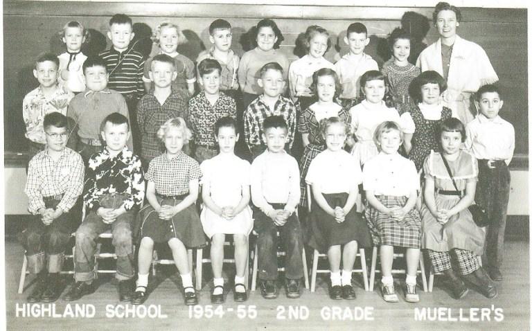 Highland School 1954 sm