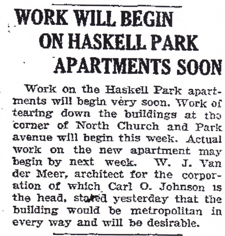 Haskell Park Apartments