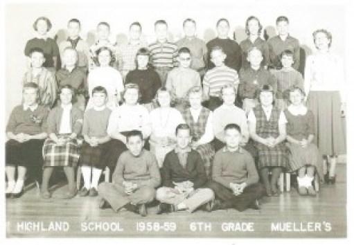 Highland School 1958 1959 sm