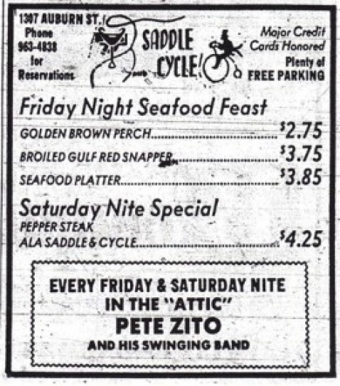 saddle and cycle pete zito