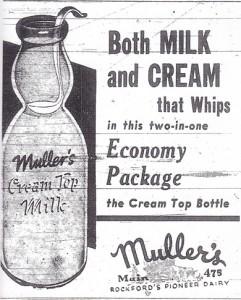 """Later Muller-Pinehurst Dairy   """"Rockford's Pioneer Dairy"""""""