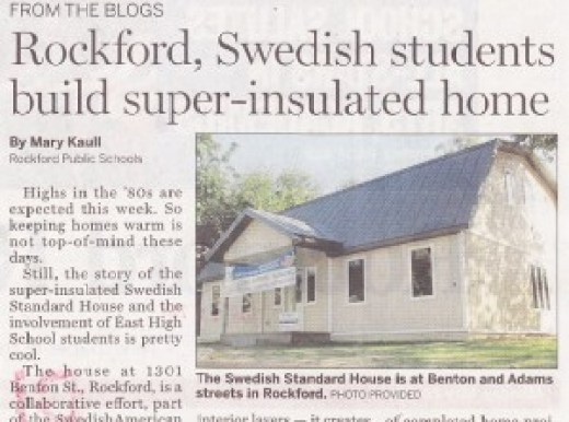 SwedishAmerican house