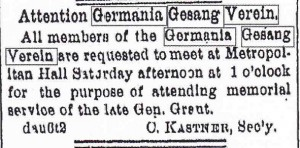 Attention, Germania!