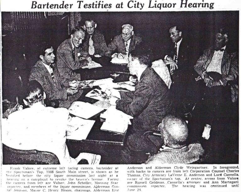 Valore  City Liquor Hearing