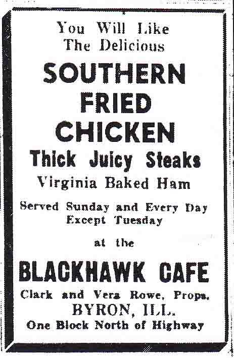 Blackhawk Cafe