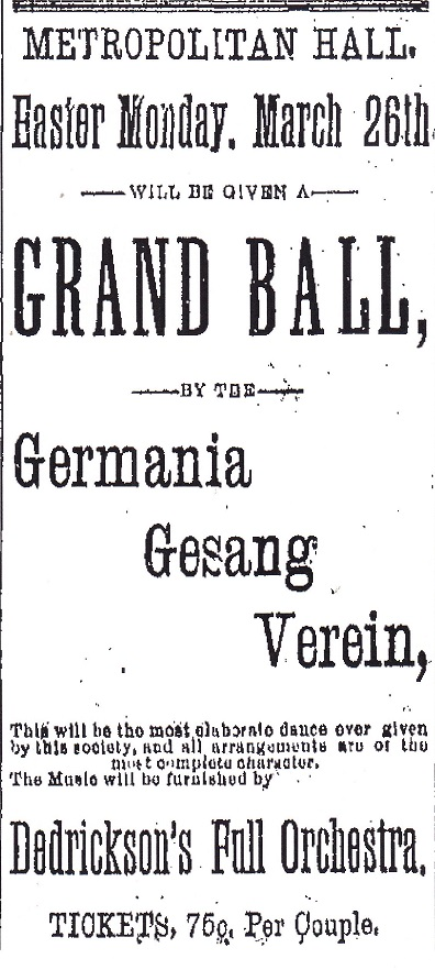 Germania Easter ball