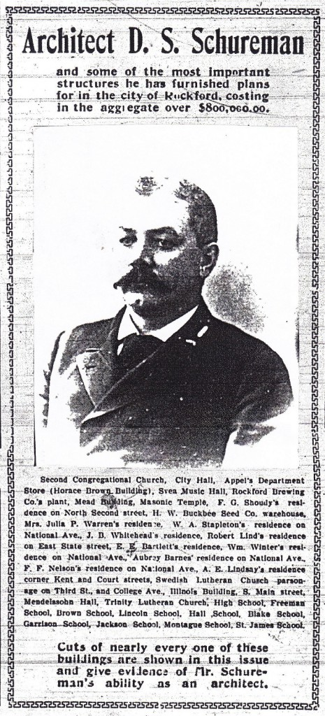 Schureman 1904 list