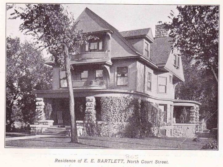 E E Bartlett residence
