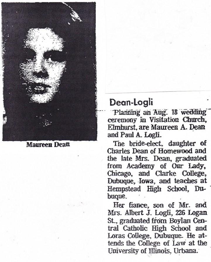 Dean, Maureen
