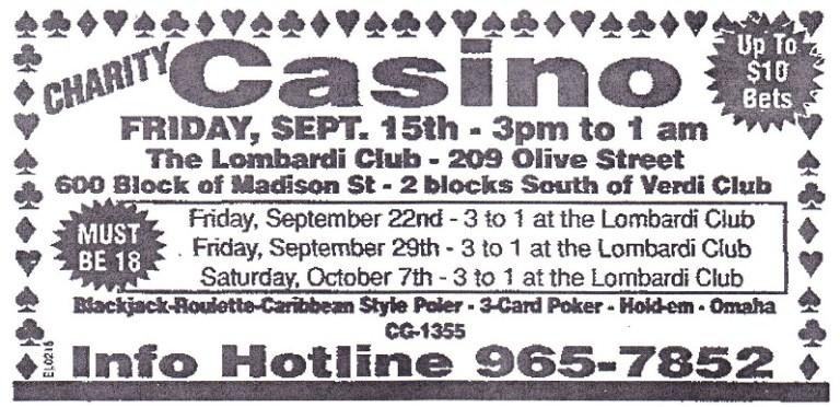 Lombardi Club Casino