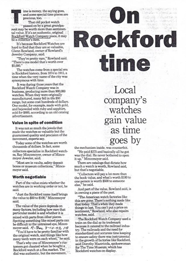 Rockford Time - 1