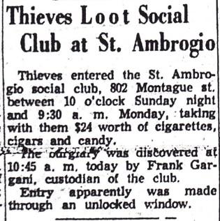 St. Ambrogio Club