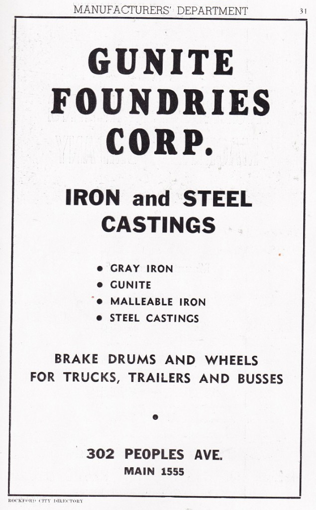 Gunite Foundries Corp.