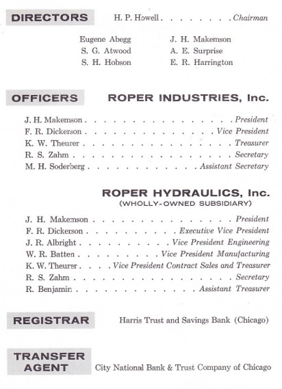Roper 1960 Annual 2