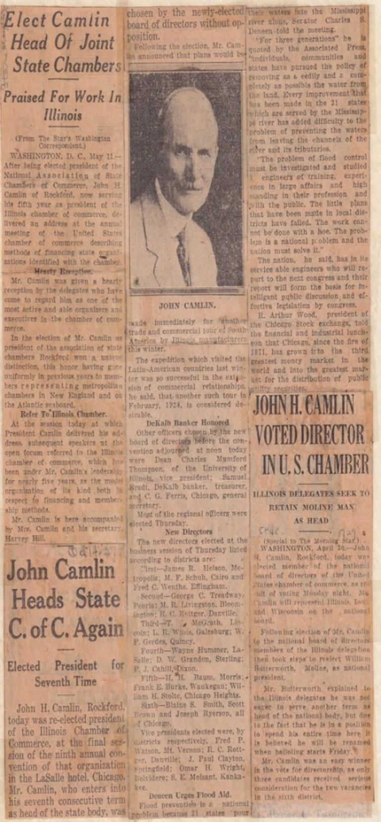 John Camlin, 1526 Harlem Boulevard